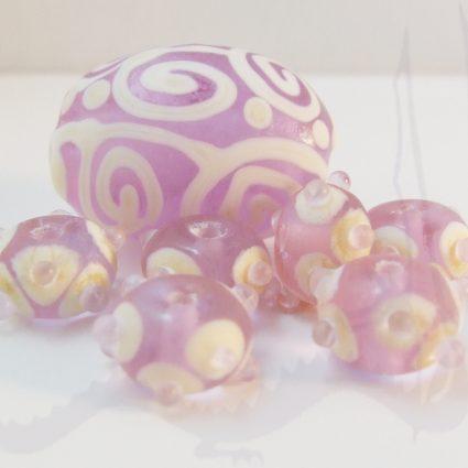 cool lavender beads