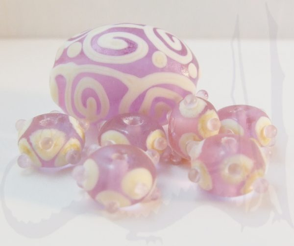 cool lavender beads