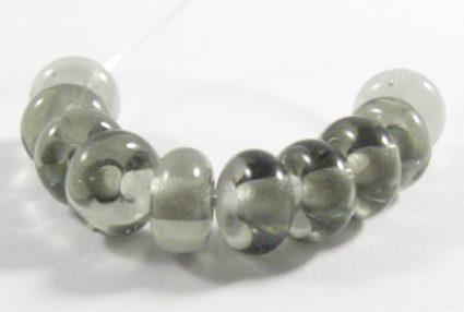 dark steel grey bead