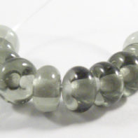dark steel grey bead